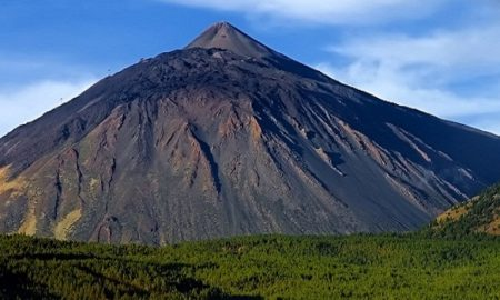 Тейде вулкан