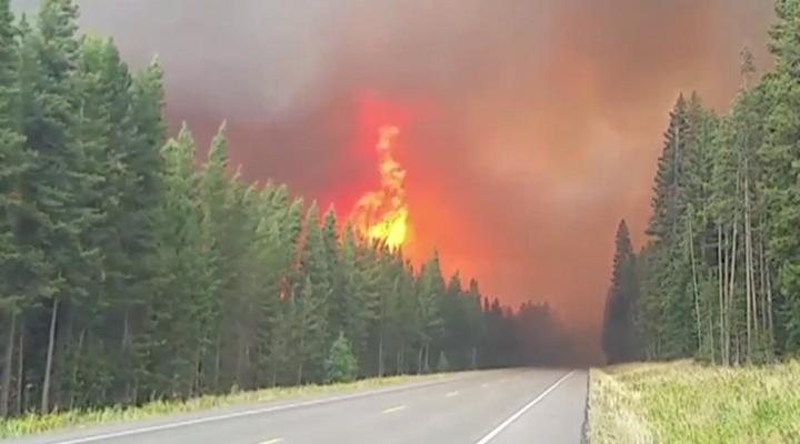 Йеллоустоун пожар