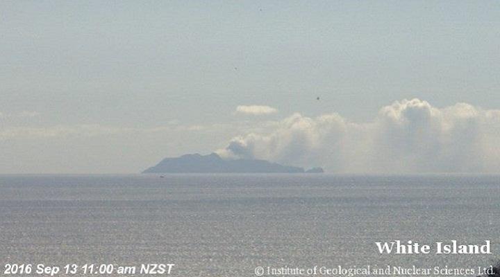 Белый остров пепел
