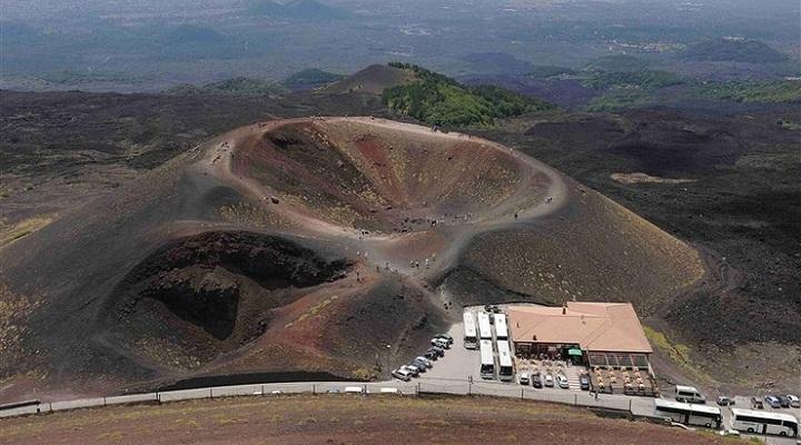 Этна кратеры