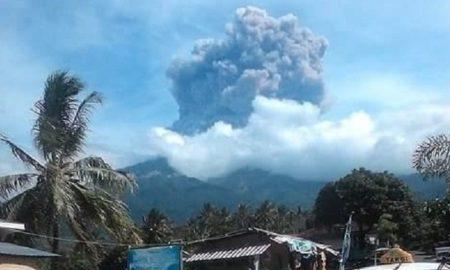 извержение вулкана ринджани новости