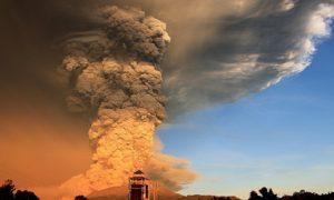 Кальбуко извержение