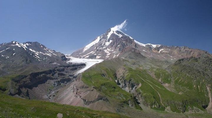 Казбек вулкан