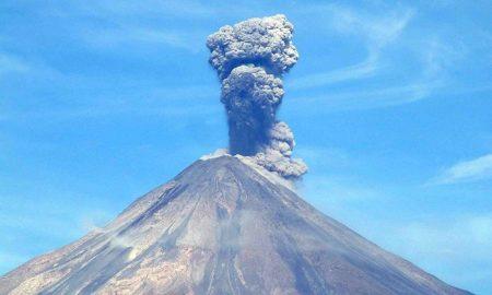 Колима извержение