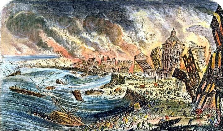 Лиссабон цунами