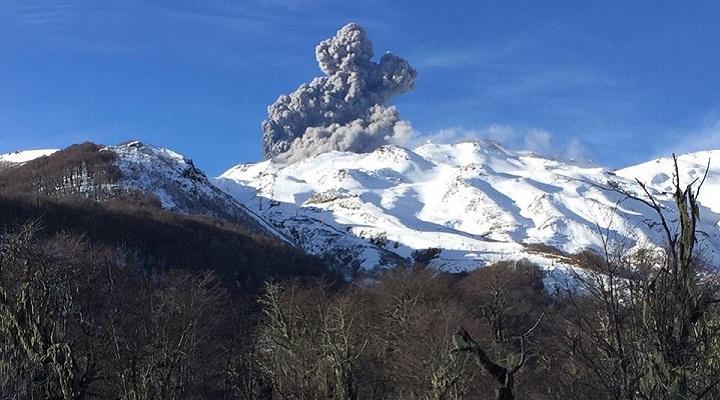 евадос-де-Чильян извержение 3 сентября