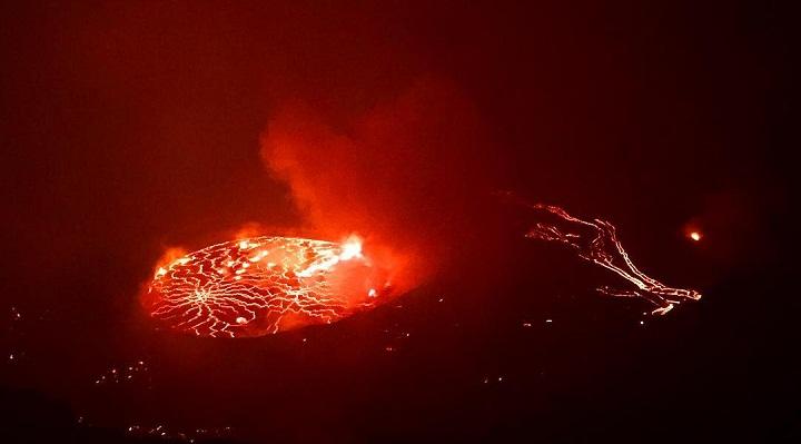 Ньирагонго 6 сентября