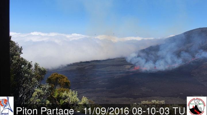 Питон-де-ла-Фурнез извержение
