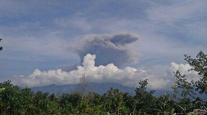 Ринджани вулкан 27 сентября