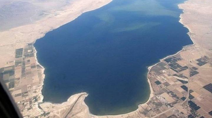 озеро Солтон-Си в Калифорнии