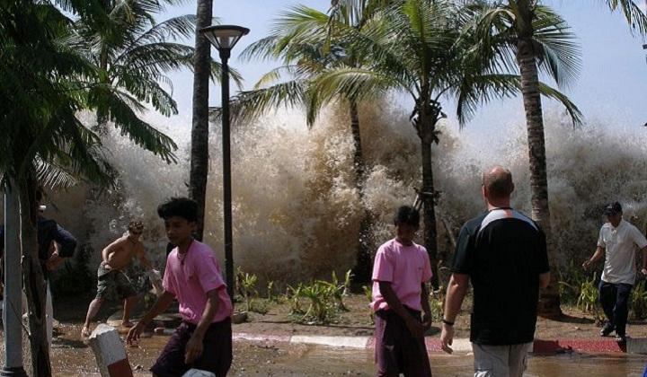 Суматра цунами