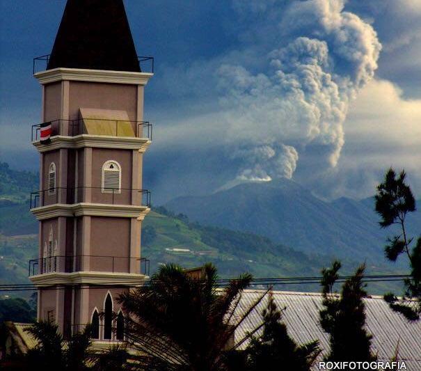 Турриальба вулкан 22 сетября