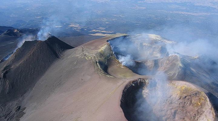 кратеры Этны