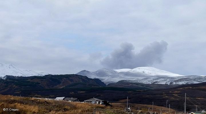 вулкан Эбеко новости