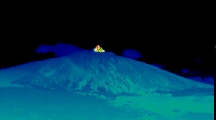 Извержение вулкана Этна новости