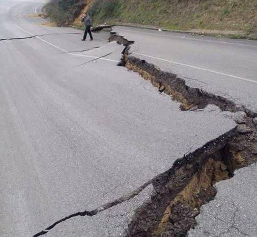 Италия землетрясение