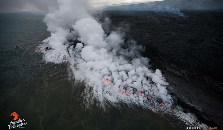 Лавовый поток Килауэа новости