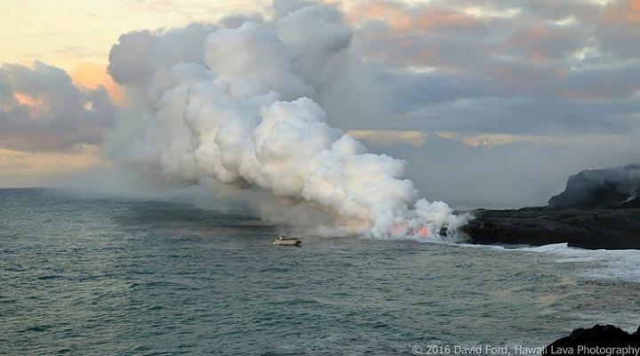 Извержение вулкана Килауэа фото