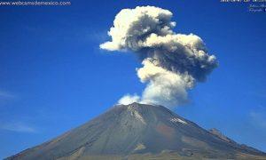 Вулкан Попокатепетль новости