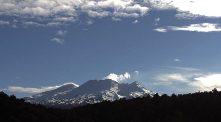 Вулкан Руапеху фото