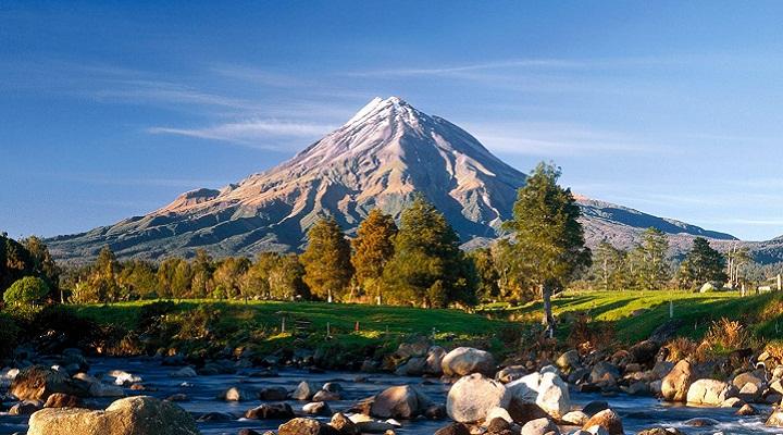 Вулкан Таранаки фото