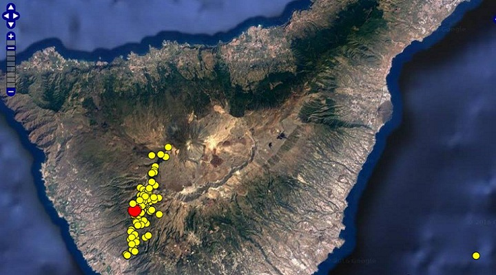 Землетрясения на Тейде фото