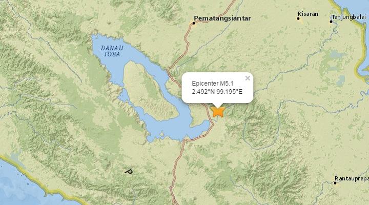 Землетрясение на супервулкане Тоба