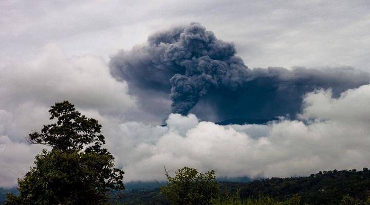 Извержение вулкана Турриальба новости