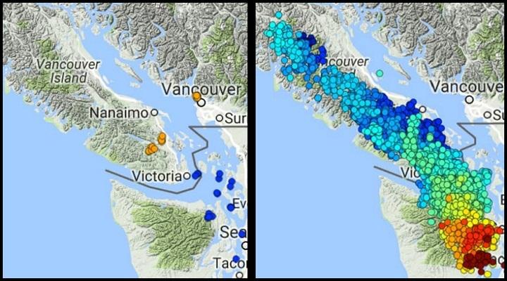 Землетрясения на Ванкувере
