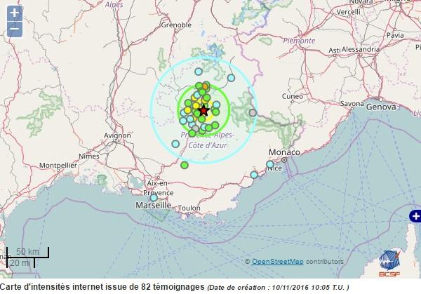 Землетрясение магнитудой 2,9 случилось вСеверной Осетии