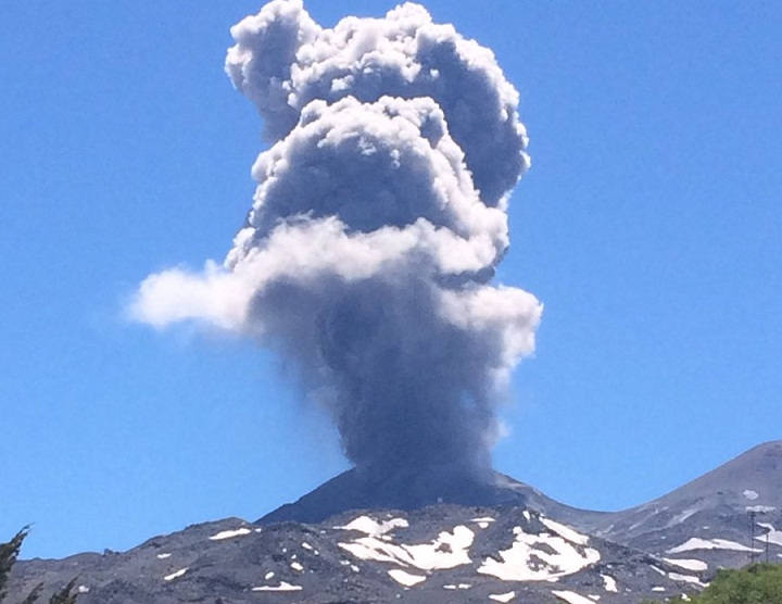 Невадо-де-Чильян вулкан