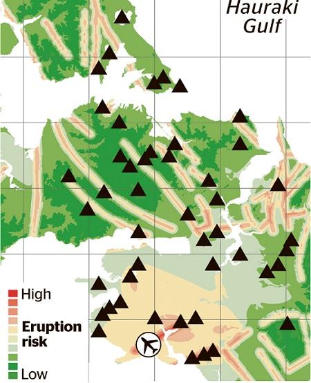 Окленд вулканическая опасность