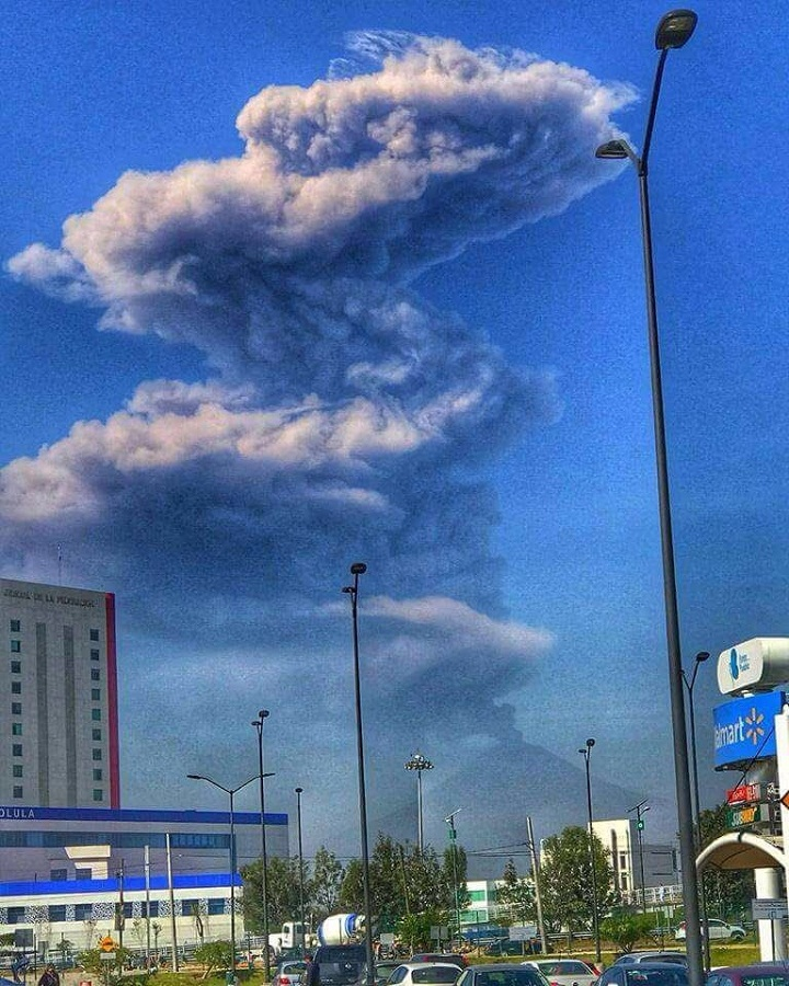 Попокатепетль вулкан