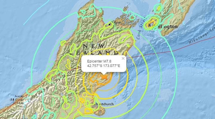 Южный землетрясение