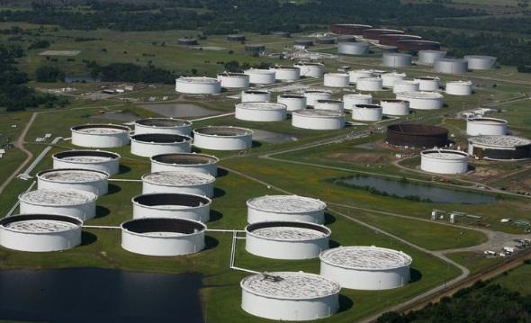 Нефтехранилище в Кушинге