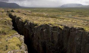 тектонический разлом