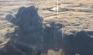 Богослов вулкан извержение
