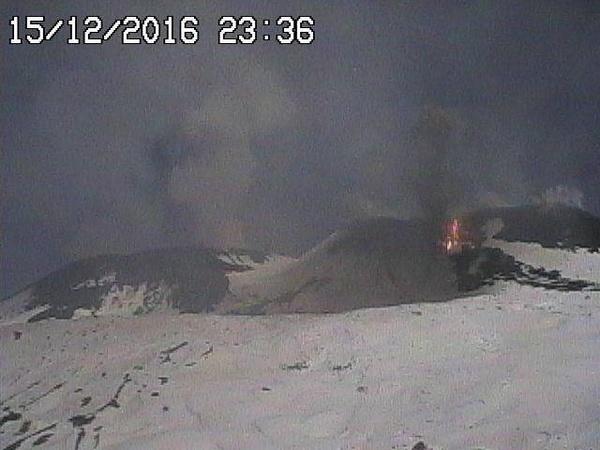 Этна гора 15 декабря