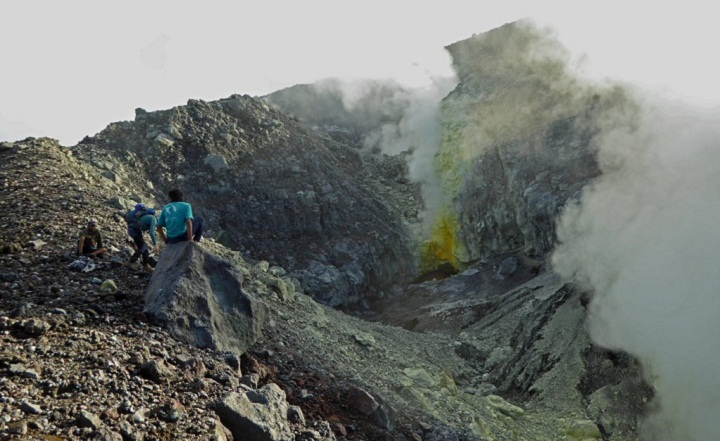Гамалама вулкан