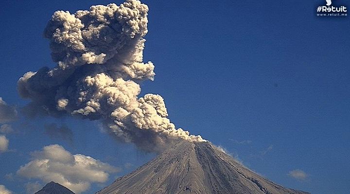 Колима вулкан 27 декабря