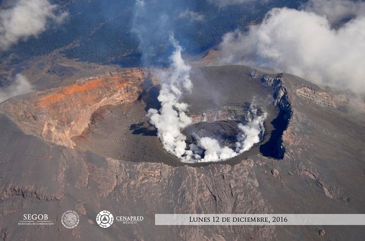 Попокатепетль вулкан 12 декабря