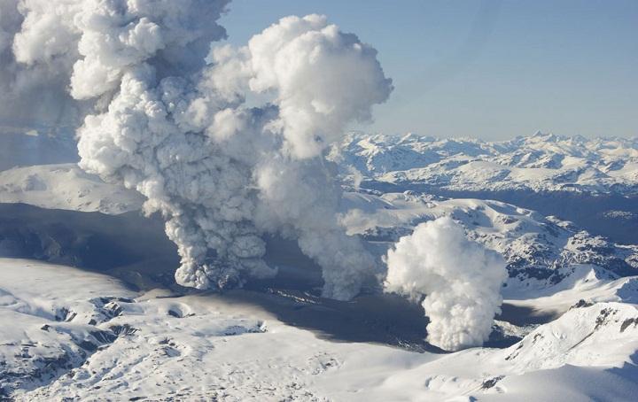 Извержение Серро-Хадсон в 2011 году