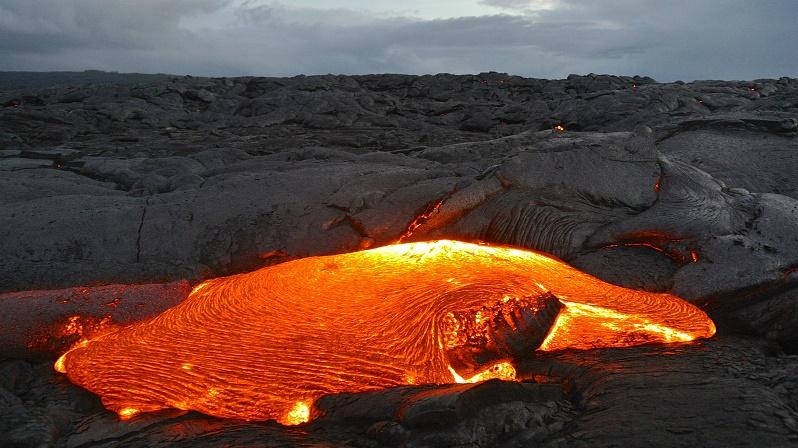Гавайские базальтовые лавы