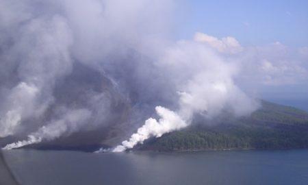 Извержение вулкана Лопеви