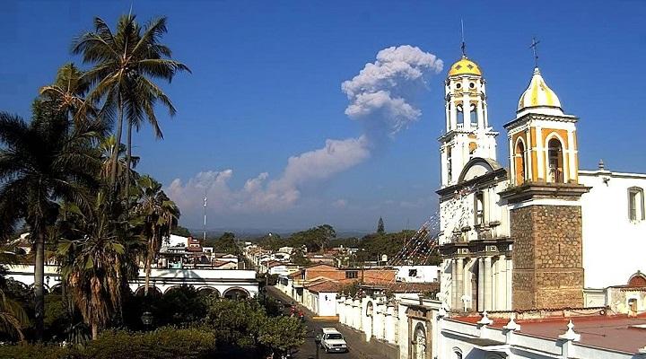 Колима вулкан 7 января
