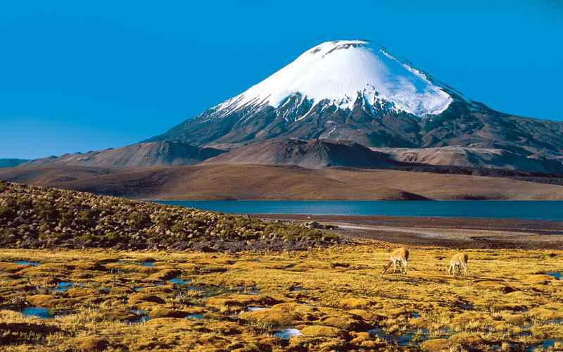 вулкан Охос-дель-Саладо