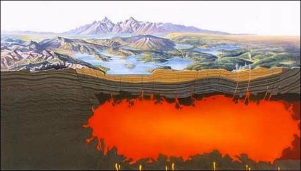 Ученые обнаружили под крупнейшим супервулканом Земли немалое углеродное море
