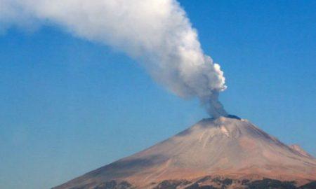 землетрясение в мексике разбудило вулкан