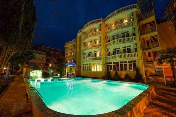 отель кипарис