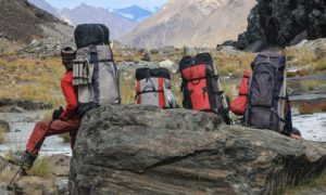 рюкзаки в походе